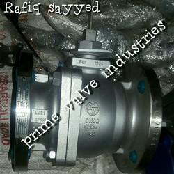 L & T  two piece full bore Stainless steel ball valve