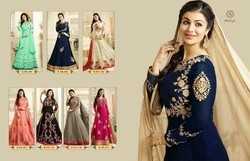 Georgett Embroidery Salwar Suits
