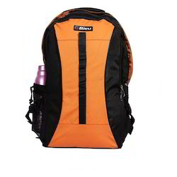 Black & Orange Backpack Rucksack Bag