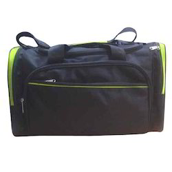Nylon Black Trendy Travel Bag
