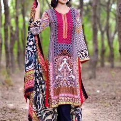 Printed Pakistani Lawn Suits