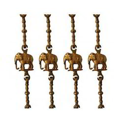 Brass Elephant Swing Chain