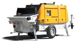 Concrete Pumps Rental Services