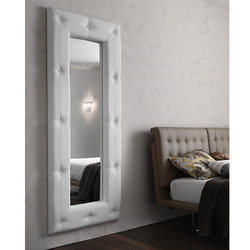Soft Bianco Rettangolare Bathroom Mirror