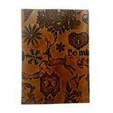 Genuine Leather Collage Design Diary DIRYL111