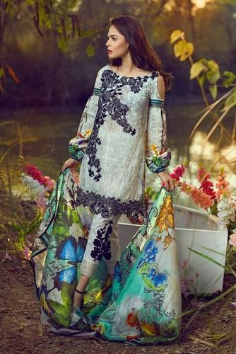 Asifa & Nabeel Lawn Embroidered Suits Wholesale Distributor from Surat