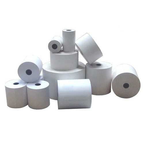Plain Thermal Paper Rolls, GSM: Less Than 80 GSM, Packaging Type: 70 Pcs Box