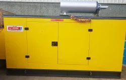 Silent Water Cooling 82.5 kVA Eicher Diesel Generator, 320 V