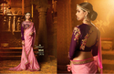 Adangini Work Sarees