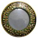Marble Picture Frames, Shape: Round, Height : 6 Inch