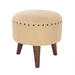 Classy Wooden Stool Ottomans