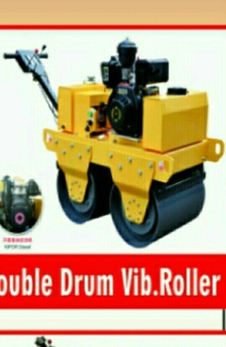 Double drum vibrator, Capacity: Centrifugal Force 20kn