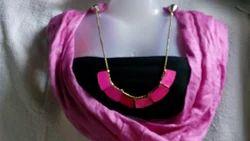 Pink Pendant Stoles