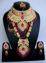 Gold Plated Wedding Bridal Jewellery Set Wj-26