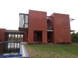 Brick Work Residential Projects Farm house Construction