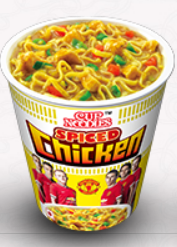 Spiced Chicken Cup Noodles