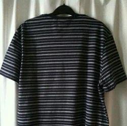 Block Color V Neck  T Shirts