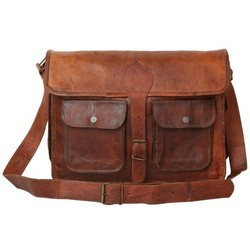 Genuine Leather Mac Book Messenger Bag MESS119