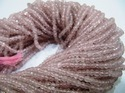 Rose Quartz Beads 3 to 4mm Size