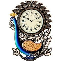 Peacock Hanging Wall Clock At Best Price In India