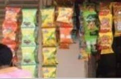 Snacks Rack Packets