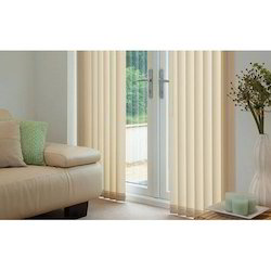 Fabric Window Multicolor Vertical Blinds