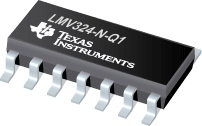 LMV324-N-Q1 Semiconductors, General Purpose Amplifier | Cv
