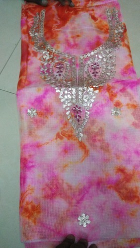 Pittan Work Suit Pure Kota Silk at Rs 1350 /piece | Ladies Silk ...