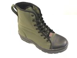 Liberty Glider Jungle Boot PU Sole Olive Green