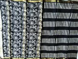 Silj Cotton Printed Silk Saaree, Set Content: With Blouse Piece