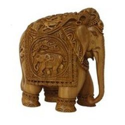 Sandalwood Animal Sculpture