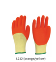 Crinkled Latex Coated Gloves Cut Level 2 Cut Resistant Gloves With 3/4 Latex Crinkled Coating