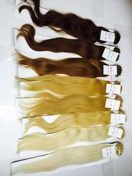 Keratin Blonde Hair Extensions