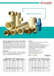 3/4 inch Precision CPVC Pipe Fitting, HotWater