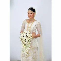 White Bridal Sarees