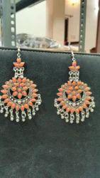 Ganapathy gems Party Afgani Earings