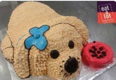 Dog Shaped Cake Fancy Retailer From Coimbatore