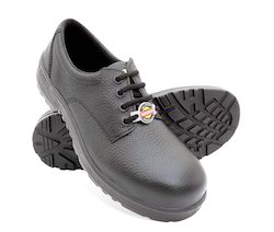Liberty Leather Warrior Safety Shoes, Size: 8