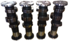 Camshaft for GE machines
