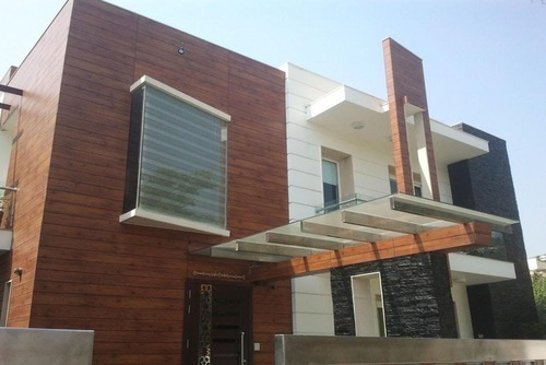 Exterior Wooden Cladding at Rs 400 /square feet | Ghaziabad | ID ...