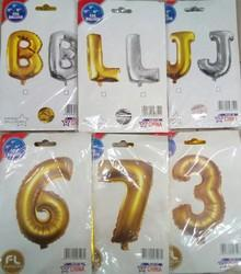 Digit Alphabet Foil Balloon