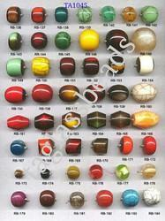 Engraved Resin Beads