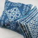 Indigo Cotton Rugs Cushion Cover