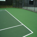 Asian Flooring Green Outdoor Court Synthetic Surface