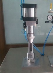 Aerosol Valve Crimping Machine