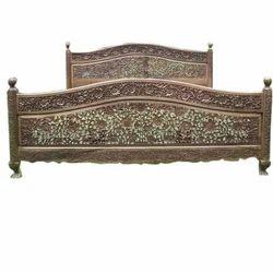 Wooden Designer Bed In Srinagar Jammu Kashmir Wooden Designer Bed Modern Wooden Beds Price In Srinagar