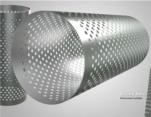 043d3dc24 Round Hole Perforated Cylinder, | Banaras Wala Material Craft in ...