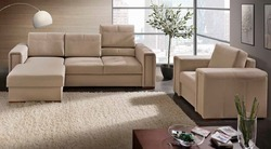 Designer Corner Leather Sofa Set