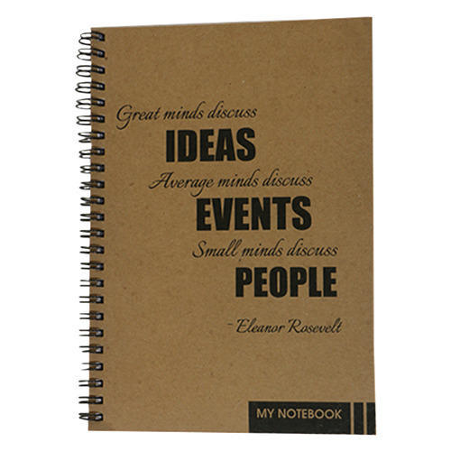 Crafted Paper Notebook Friends Digital Color Print Shop