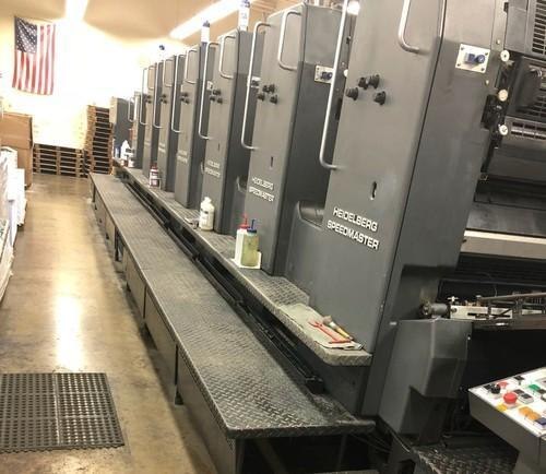 Heidelberg Single Color Used Offset Printing Machine, Model Number/Name: Speedmaster 102, Automatic Grade: Automatic